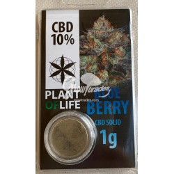 Blue Berry CBD Solid 10% (Plant of Life)