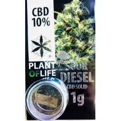 Sour Diesel CBD Solid 10% (Plant of Life)